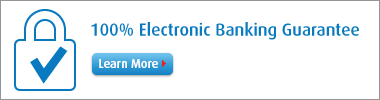 100% Electronic Banking Guarantee